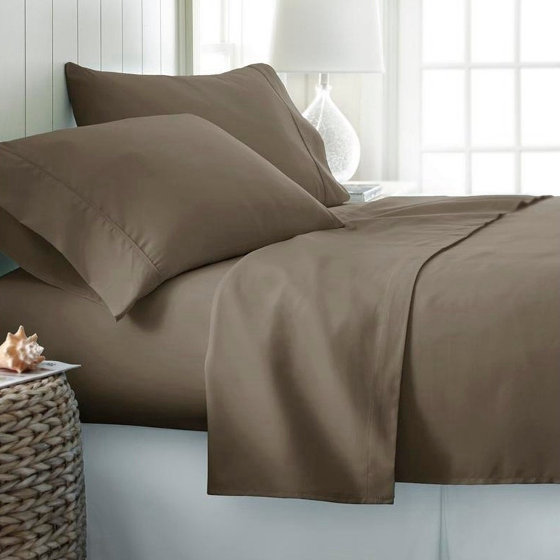 light coffee sheet sets