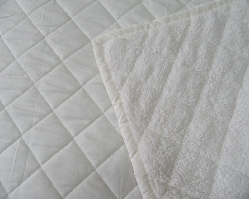 quilted sherpa bedspread sets
