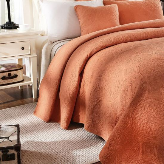 Queen Cotton Bedding Set Quilts