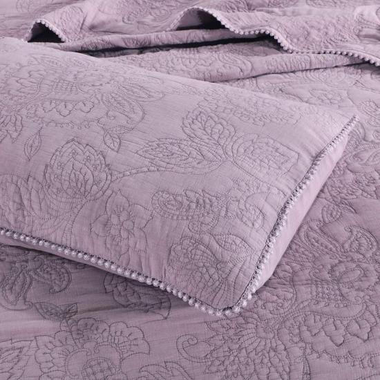 Bedspread real stitching bedding set