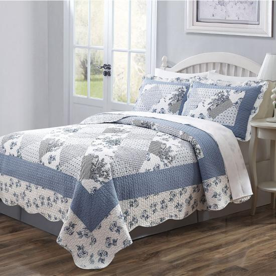 quilted reversible bedding set